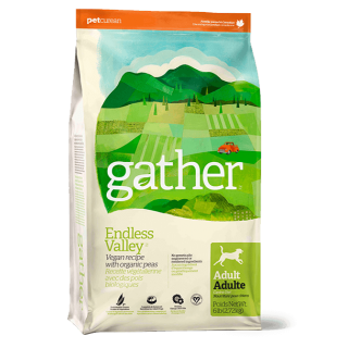 Gather Endless Valley Vegan Recipe with Organic Peas Adult Dog Dry Food