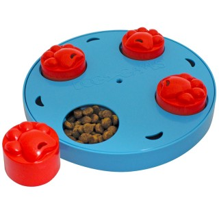 Kyjen Dog Games Mini Treat Wheel Dog Toy Puzzle