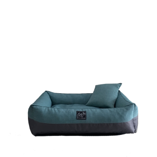 Bow House Snorebox Sea Blue Pet Bed