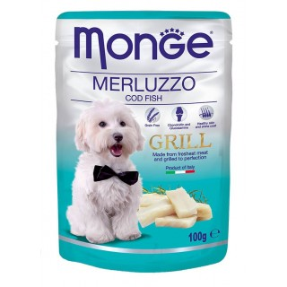 Monge Grill COD Fish 100g Dog Wet Food