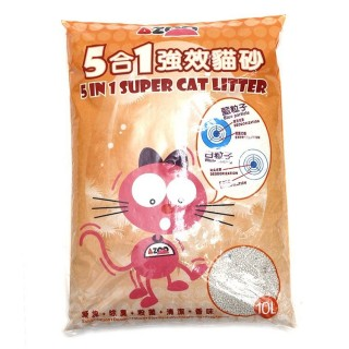 Azoo 5 in 1 Super Cat Litter 10L Cat Litter