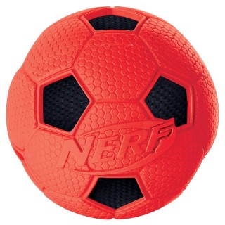 Nerf Dog Soccer Crunch Ball RED SMALL 2.5 inches Dog Toy