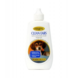 Gold Medal Pets Clean Ears for Dogs and Cats, 4oz