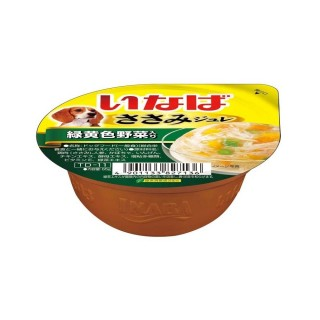 Inaba Dog Jelly Chicken with Vegetables 65g Dog Wet Food TD11