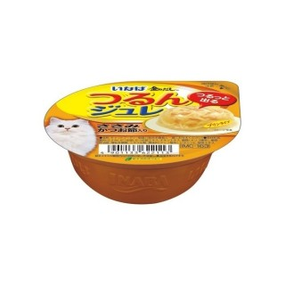 Inaba Soft Jelly Chicken with Sliced Bonito 65g Cat Wet Food (IMC163)