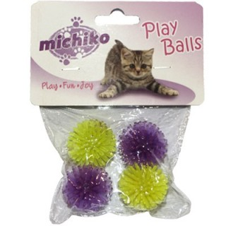 Michiko Spike Balls Cat Toy
