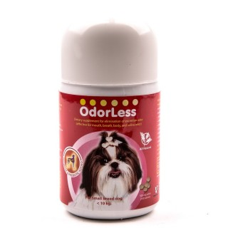 Odorless Odor Eliminator Small Breed Dog Supplement (100 tablets)