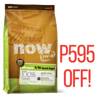 Now Fresh Grain-Free Small Breed All Ages 11.3kg Dog Dry Food