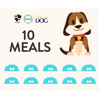 DONATE 10 MEALS OF SPECIAL DOG DRY FOOD