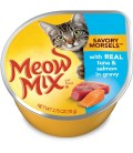 Meow Mix Savory Morsels with Real Tuna & Salmon 78g Cat Wet Food