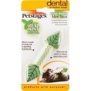 Petstages Fresh Breath Mint Stick Cat Toy