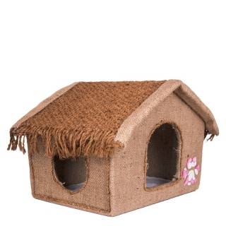 Cocogreen Natural Kitty Bungalow A-Type Cat House