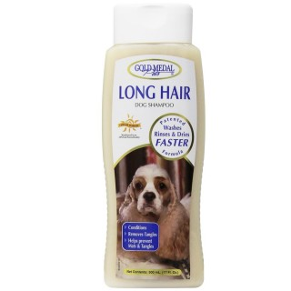 Gold Medal Long Hair Shampoo 17oz Premium Dog Shampoo