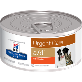 Hill's Prescription Diet Urgent Care a/d with Chicken 156g Dog & Cat Wet Food