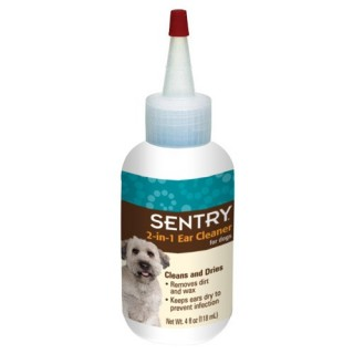 Sentry 2-in-1 Ear Cleaner for Dogs 118ml