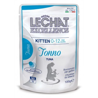 LeChat Excellence Chunkies with Tuna Kitten Wet Food 100g