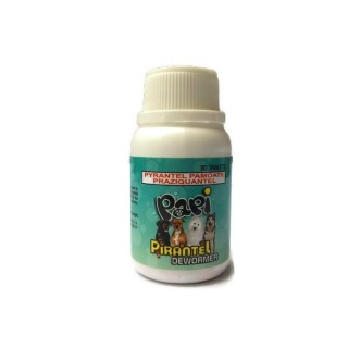 Papi Pirantel Dewormer 30pcs Medium to Large Breed Dog