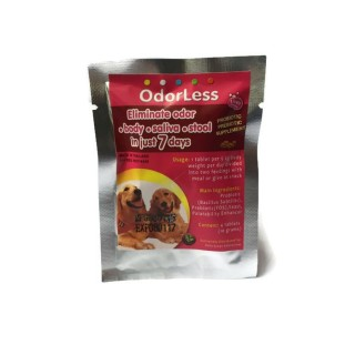 Odorless Medium to Large Dog Supplement (4-Tab Sachet)