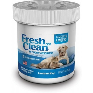 Lambert Kay Fresh 'N Clean Pet Odor Absorber Ocean Breeze Scent 16oz