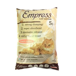 Empress Peach Scent 5L Cat Litter