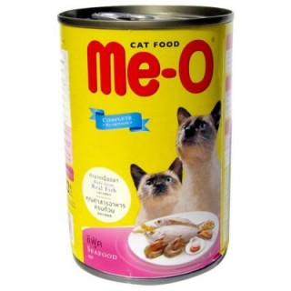 Me-O Seafood Platter in Prawn Jelly 400g Cat Wet Food