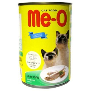 ME-O Sardine in Prawn Jelly 400g Cat Wet Food