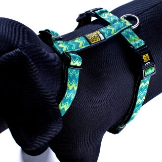 Max & Molly Vintage Green Pet Harness
