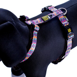 Max & Molly Vintage Pink Pet Harness