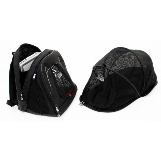 Petego Pet at Work Pet Carrier with Pet Dome
