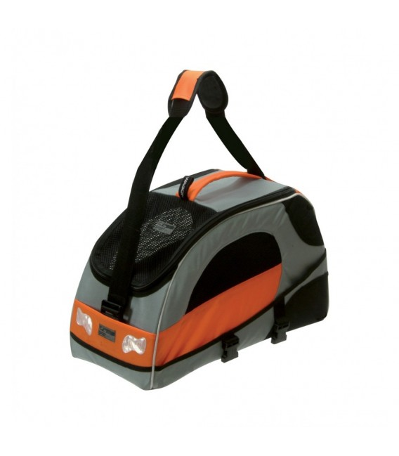 Petego Sport Wagon Silver Orange Pet Carrier Bag