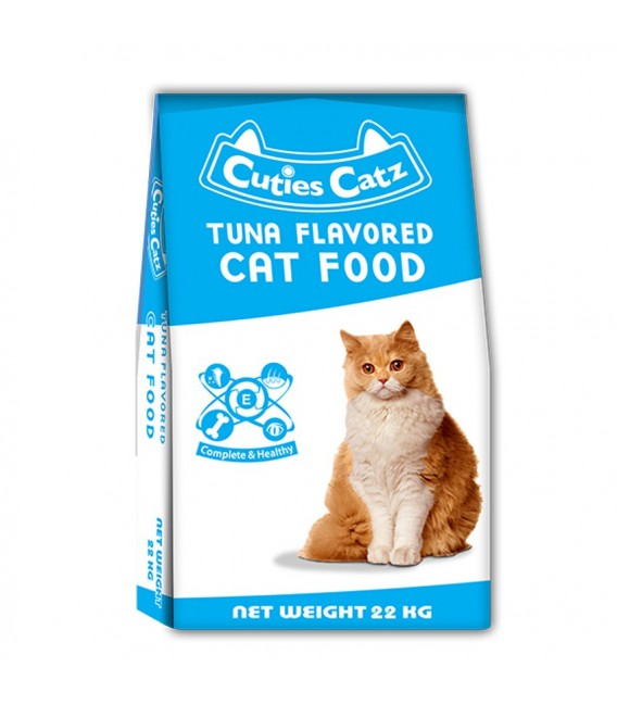 Dry Cat Food Packaging