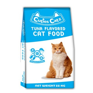 Cuties Catz Tuna Flavor 22kg Cat Dry Food