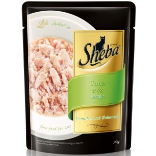 Sheba Tuna Pouch 70g Cat Wet Food