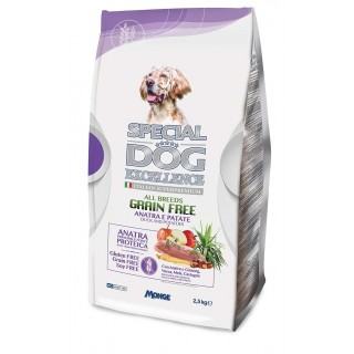 Special Dog Excellence All Breeds Grain-Free Duck & Potatoes 2.5kg Dog Dry Food
