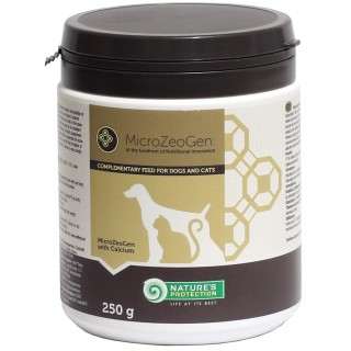 Nature's Protection Microzeogen with Calcium 250g Dog & Cat Dietary Supplement