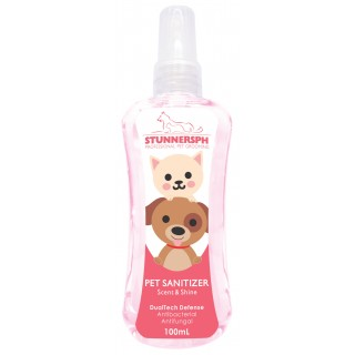 Stunners PH Scent & Shine with Aloe Vera Extract 100ml Pet Sanitizer