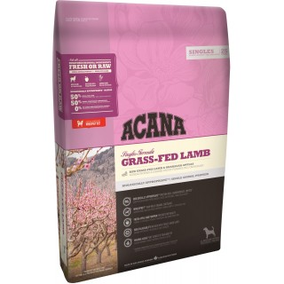 Acana Singles Formula Grass-Fed Lamb Dog Dry Food