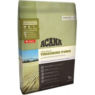Acana Singles Formula Yorkshire Pork Dog Dry Food