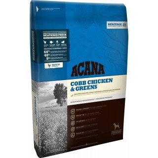 Acana Heritage Formula Cobb Chicken & Greens Dog Dry Food