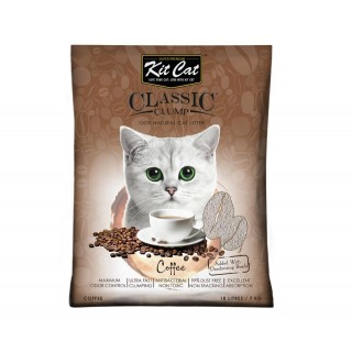 Kit Cat Classic Clump Coffee Scent 7kg Premium Cat Litter