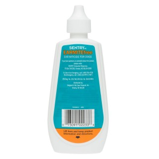 Sentry Earmite Free 88ml Dog Ear Miticide