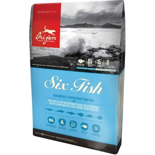 Orijen Six Fish 11.4kg Dog Dry Food