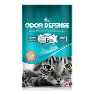 Catit Cat Love Odor Defense Unscented 12kg Premium Cat Litter