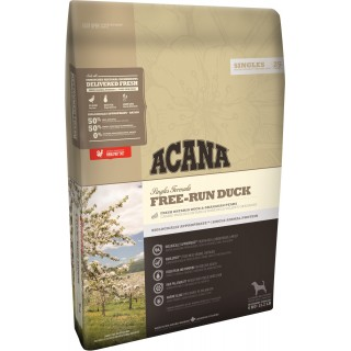 Acana Singles Formula Free-Run Duck 11.4kg Dog Dry Food