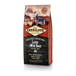 Carnilove Into The Wild Grain-Free, Potato-Free Lamb & Wild Boar for Adult Dogs Dog Dry Food