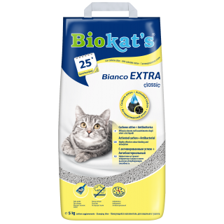 Biokat's Bianco Extra Classic with Activated Carbon 5kg Cat Litter