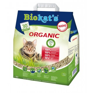 Biokats Organic 10L Flushable Cat Litter