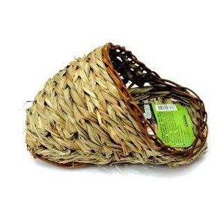Jolly Lotus Grass Sandal Hut for Guinea Pig - Small