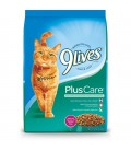 9 Lives Plus Care with Grilled Tuna & Egg 5.44kg Cat Dry Food