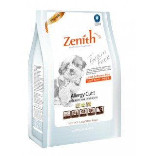 Zenith Lamb & Brown Rice Small Breed 1.2kg Soft Kibble Dog Dry Food